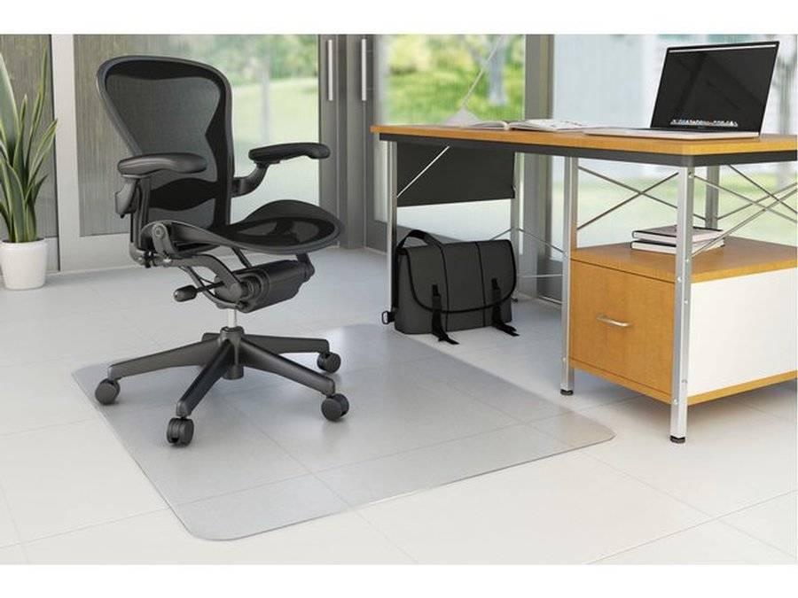 Bureaustoel Wielen Laminaat.Rillstab Stoelmat 97100 90x120cm Voor Harde Vloeren
