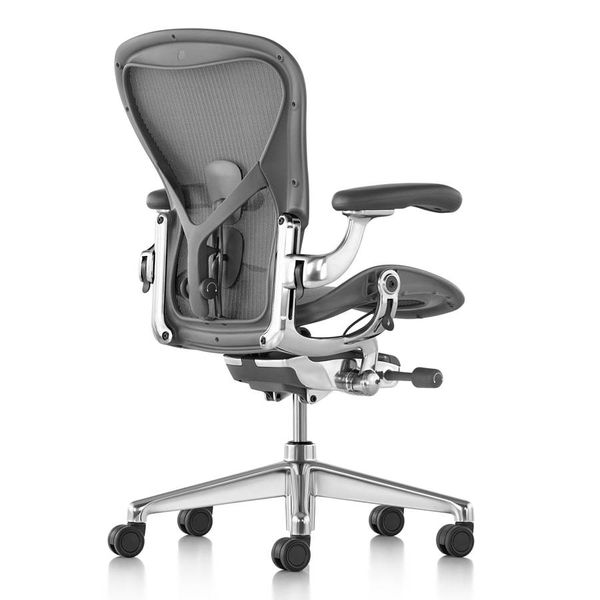 Herman Miller Aeron Remastered Carbon - aluminium