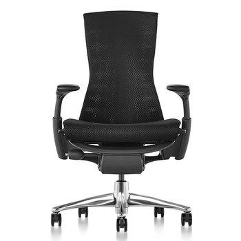 Herman Miller Embody zwart - aluminium