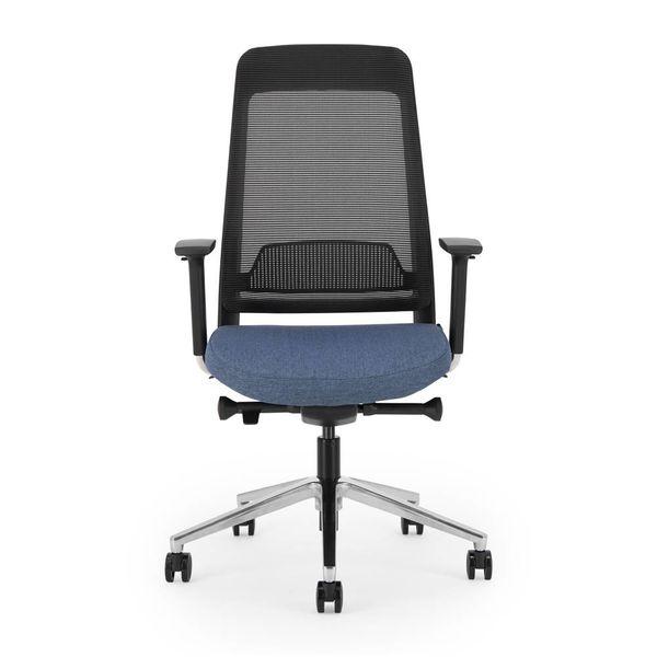 BENE bureaustoel | black - blue