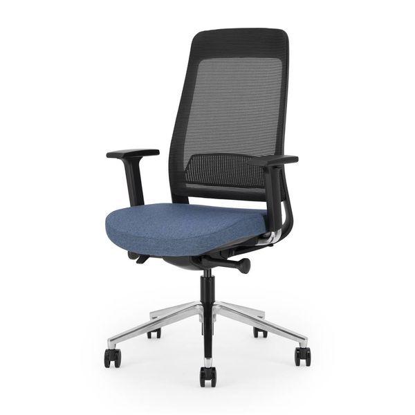 FILO bureaustoel | black - blue