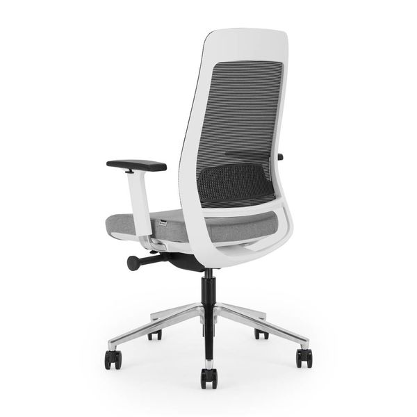 BENE bureaustoel | white - grey