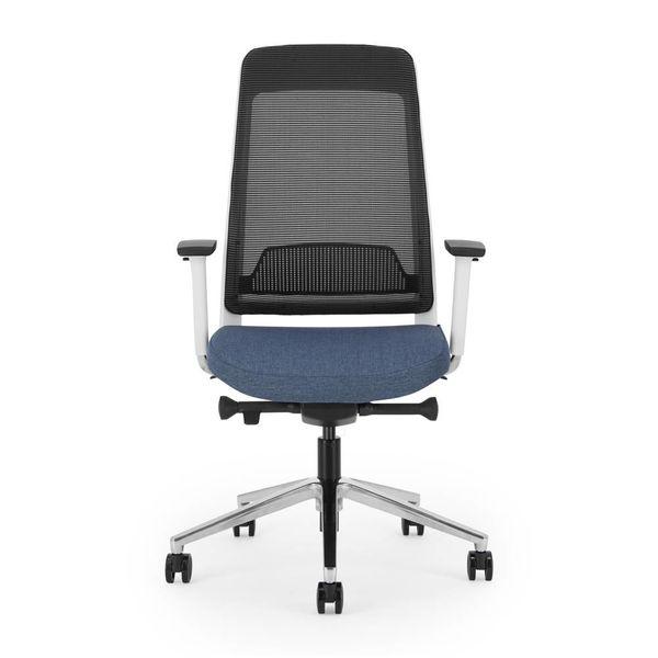 FILO bureaustoel   white - blue