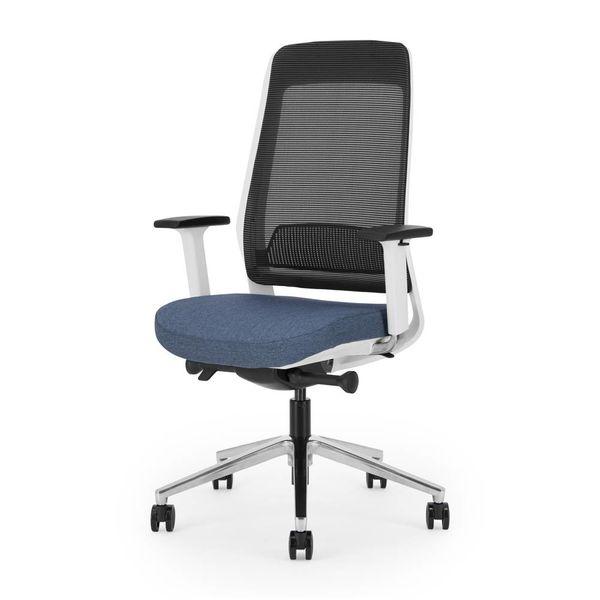 BENE bureaustoel | white - blue