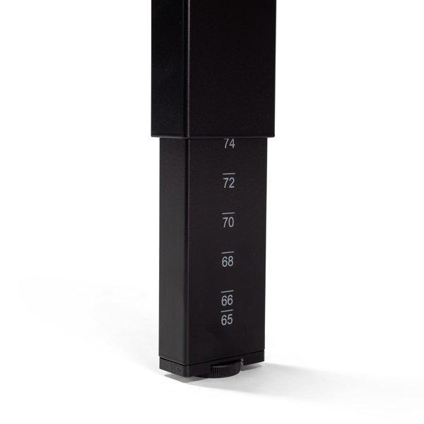 Bureautafel PP design zwart