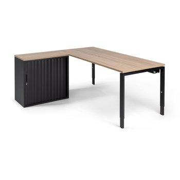 Hoekbureau PP Design Store zwart
