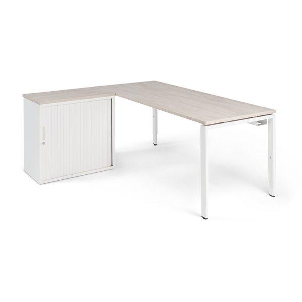 Hoekbureau PP Design Store wit