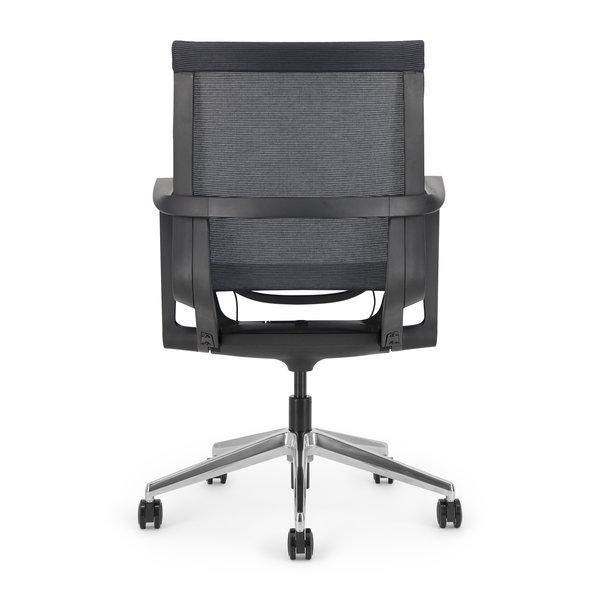 LUCE bureaustoel | black - black