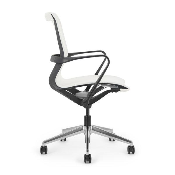 LUCE bureaustoel | black - white