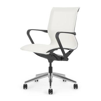 LUCE bureaustoel | black -white
