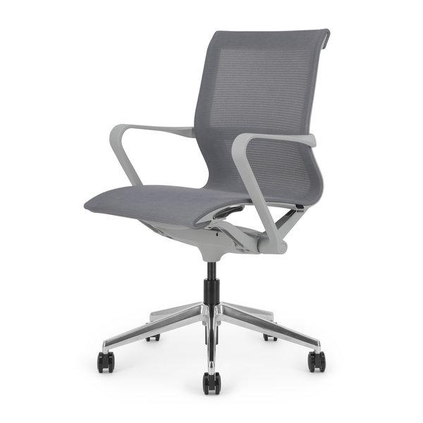 LUCE bureaustoel | grey - grey