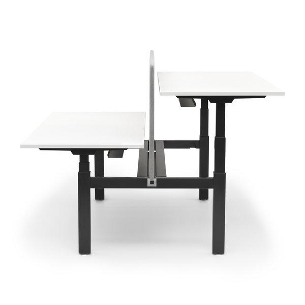 Duo zit sta bureau |  InMotion zwart - wit