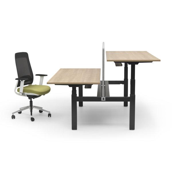 Duo zit sta bureau |  InMotion zwart - havanna