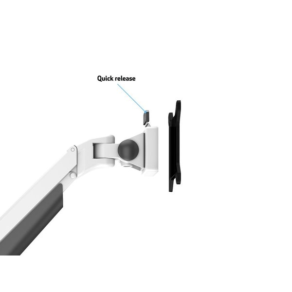 Monitorarm M-line Easy Dubbel