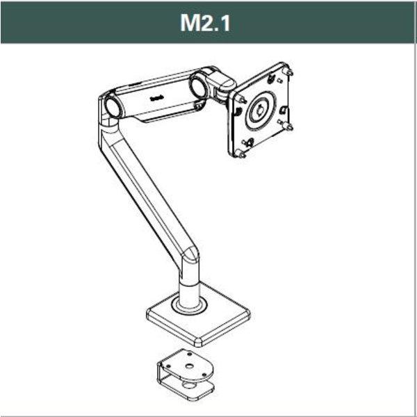 Monitorarm Humanscale M2.1 Enkel