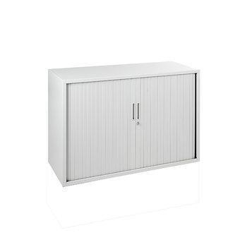 ECO Line 72,5x120x43 wit/zwart/aluminium