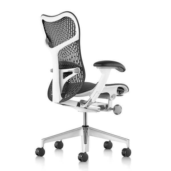 Herman Miller Mirra 2 Graphite - white