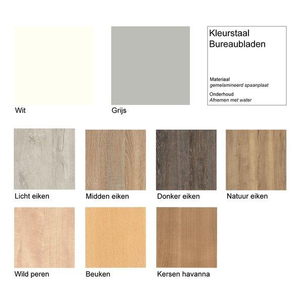 Zit sta bureau InMotion wit | div. kleuren