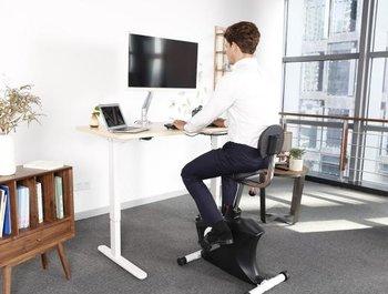 Blijf thuis of op kantoor actief met de bureaufiets!