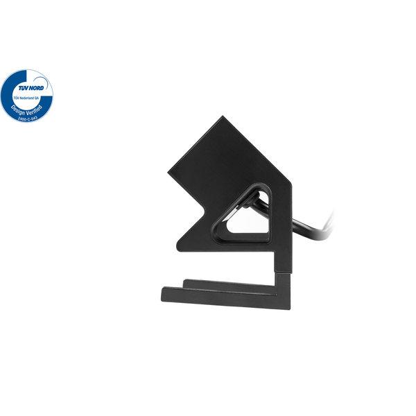 Filex Power Desk Up | 2x 230V,  kleur zwart-wit