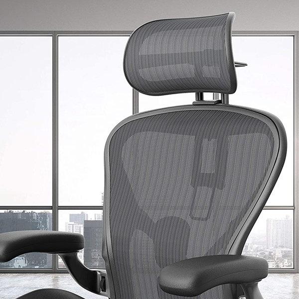 Herman Miller Aeron Graphite - aluminium