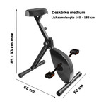 Deskbike blauw medium