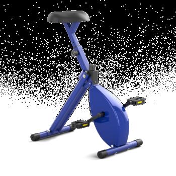 Deskbike blauw/blauw medium