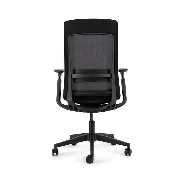 Deasc. bureaustoel Sedi black   black