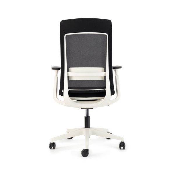 Deasc. bureaustoel Sedi white | black