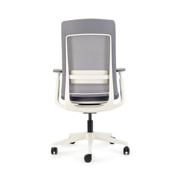 Deasc. bureaustoel Sedi grey | grey