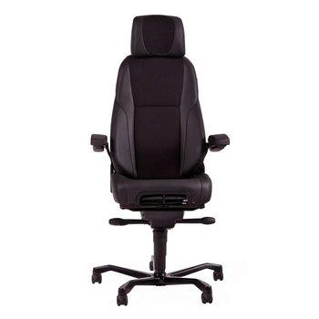 24-uurs bureaustoel MY Office Deluxe  Stof / Leder