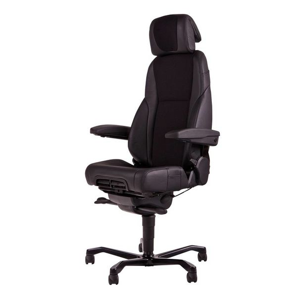 24-uurs bureaustoel KAB K4 Stof / Leder