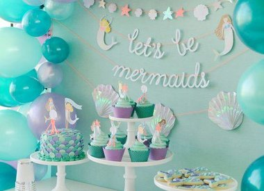 Mermaid party items