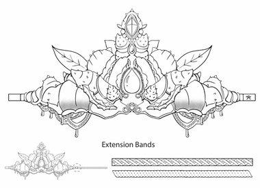 Make a mermaid crown