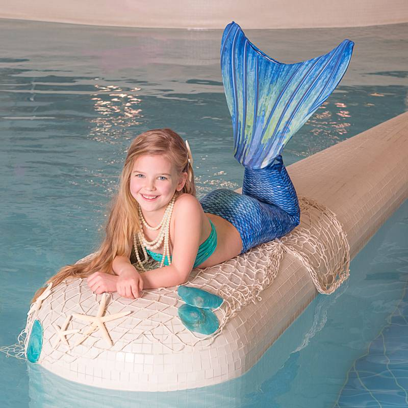 Blue Sea mermaid tail