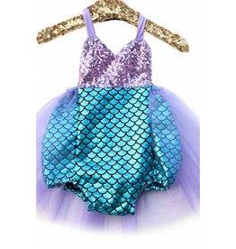 Süßer Meerjungfrauenkostüm