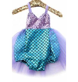 Sweet mermaid suit