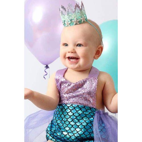 Sweet mermaid jurkje