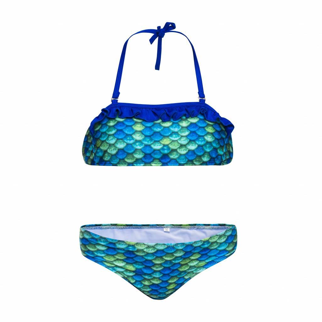 Bikini rêveur sirène verte