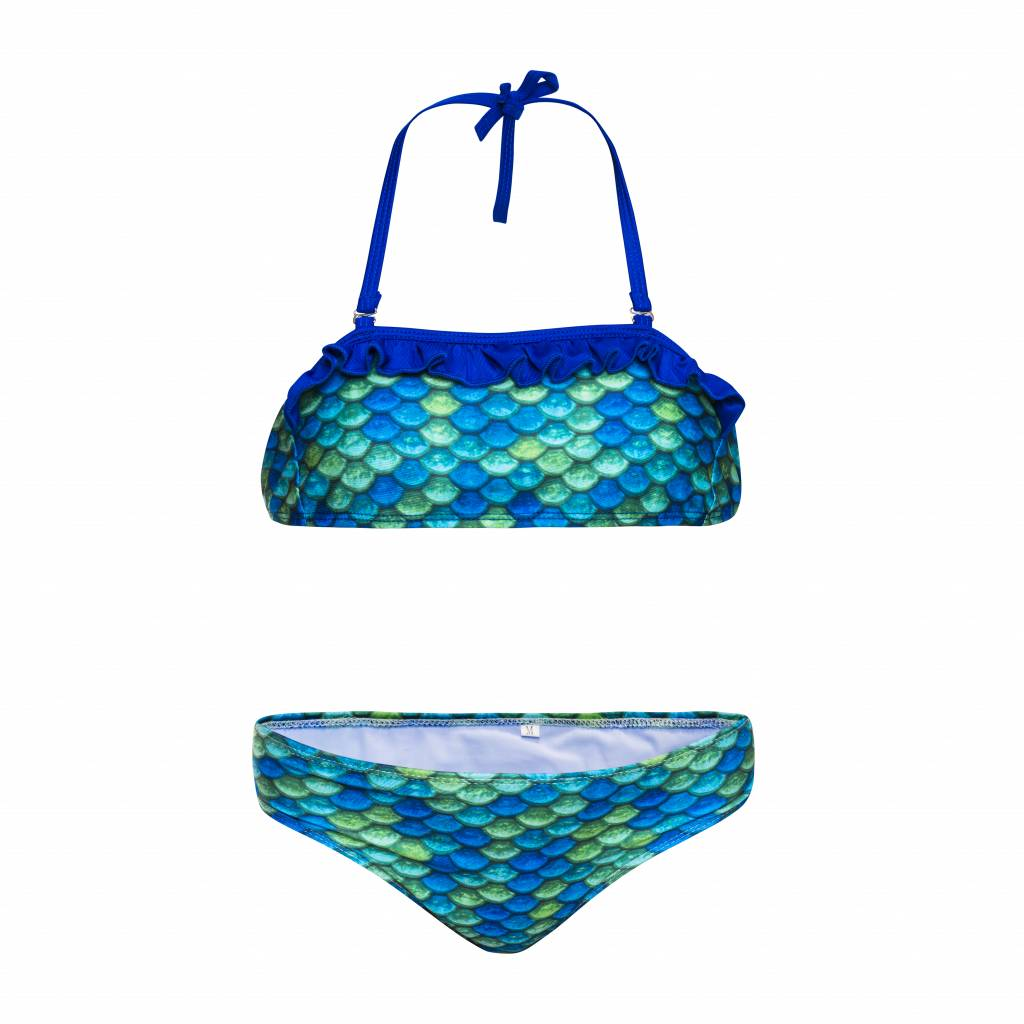 NoordZeemeermin Dreamy Greeny mermaid bikini