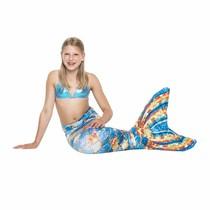 Sparkles mermaid stares to swim with