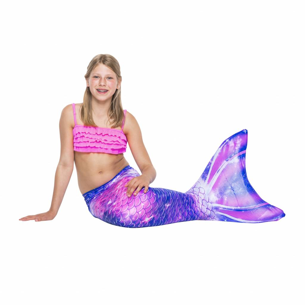 NoordZeemeermin Pink Galaxy mermaid swimsuit