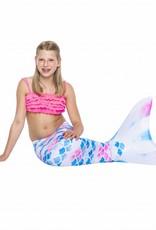 NoordZeemeermin Pink in the Clouds mermaid tail