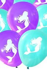 Boîte de fête à thème sirène