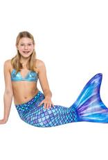 Purple Jungle mermaid tail