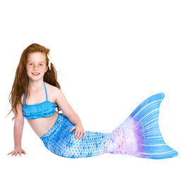 Blue fantasy mermaid tail