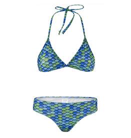 NoordZeemeermin Bikini Greeny triangel maat L ( 158164)
