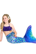 NoordZeemeermin Purple Jungle mermaid tail