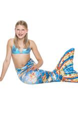 NoordZeemeermin Complete set met Zeemeerminstaart, Monovin en Bikini