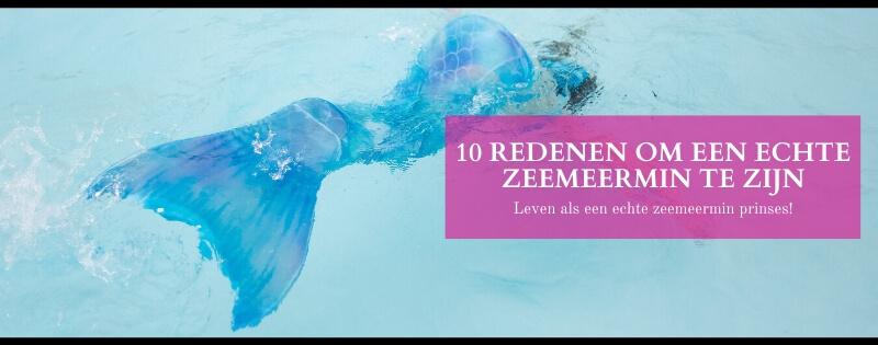 10 redenen om een echte zeemeermin te zijn